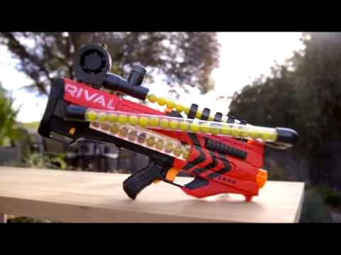 007 Nerf Rival MXV 5600 Parts list and breakdown