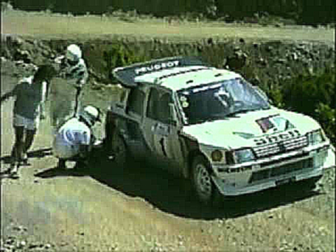 Group B Rally Monsters at the 1986 Acropolis Rally
