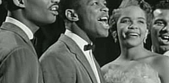 Видеоролик к песне The Great Pretender - THE PLATTERS  - The Great Pretender