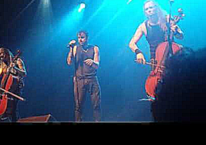 Видеоролик к песне Slow Burn - Slow Burn - Apocalyptica in Montreal, 10 June 2015