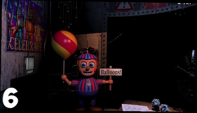 Видеоролик к песне Песня Balloon Boy - Пасхалки Five Nights At Freddy's - 10 фактов о Balloon Boy!