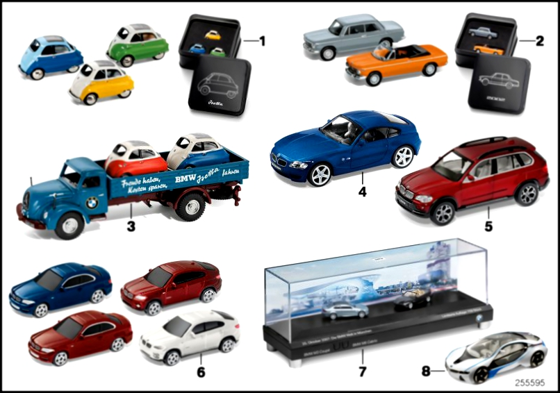 для  BMW Miniaturen - Sets 2010/11