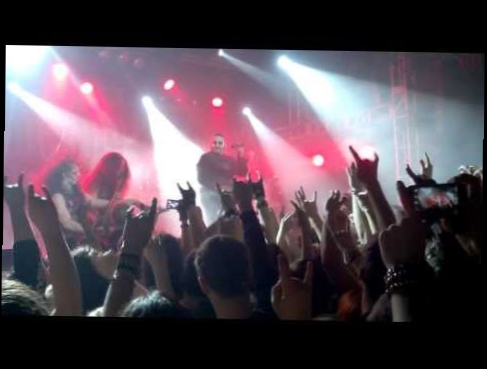 Видеоролик к песне Sanctified With Dynamite - Powerwolf - Sanctified With Dynamite (live) (Moscow, Volta, 08.03.14)