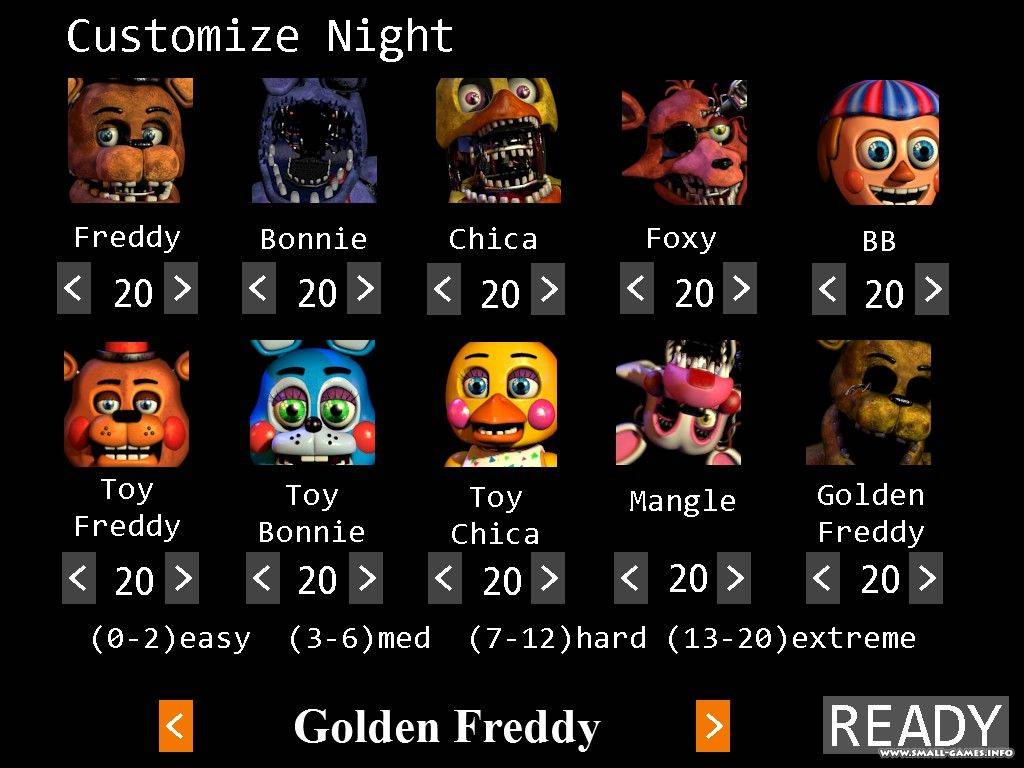 Pc / computer five nights at freddy's 2 vents the spriters.