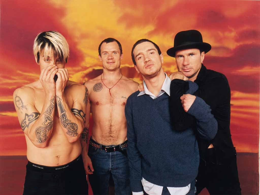 Red hot chili peppers at bonnaroo, great stage park, manchester, tn, 6/10/2017