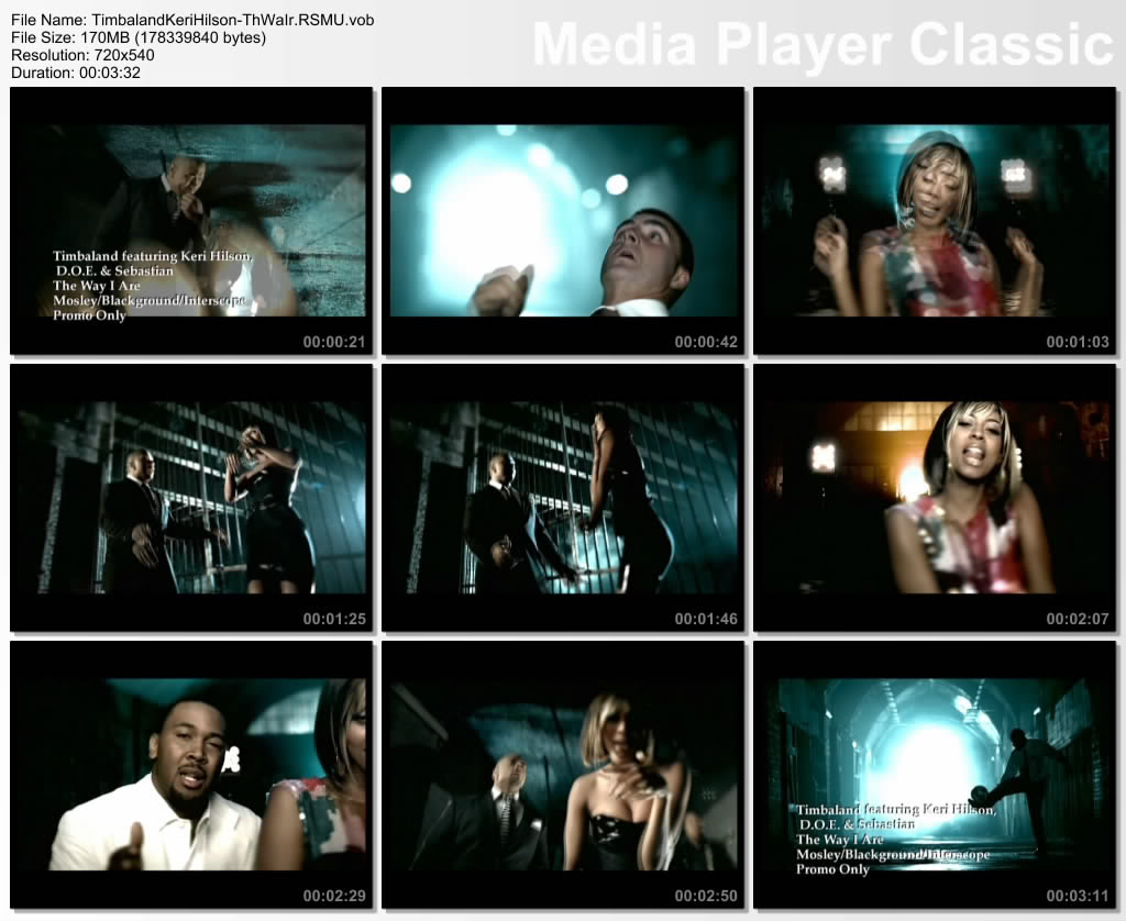 The way you are  музыка на дискотеку - [ Timbaland.feat.Keri Hilson